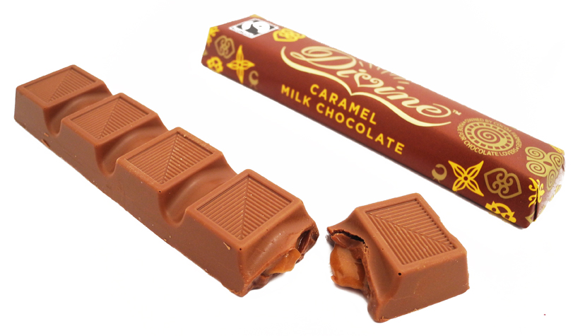 divine chocolate caramel milk chocolate - wholesale suppliers UK